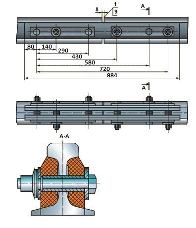 Стыковая изоляция АПАТЭК Р-50