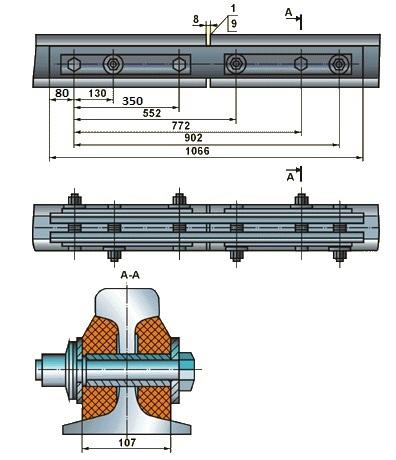Стыковая изоляция АПАТЭК Р-65
