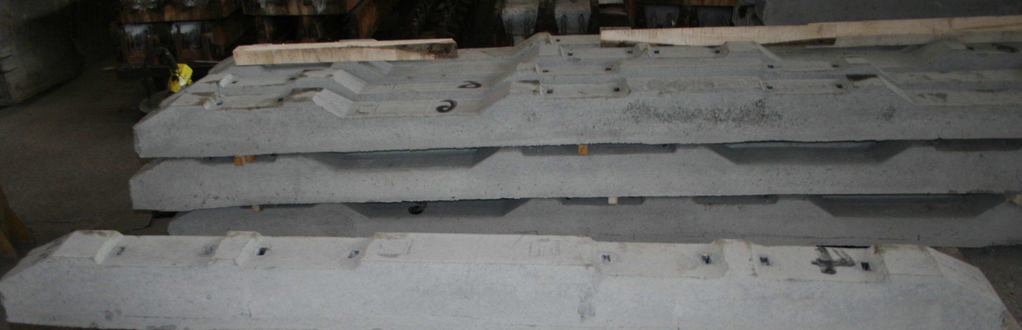 Комплект железобетонных брусьев для проекта 2769