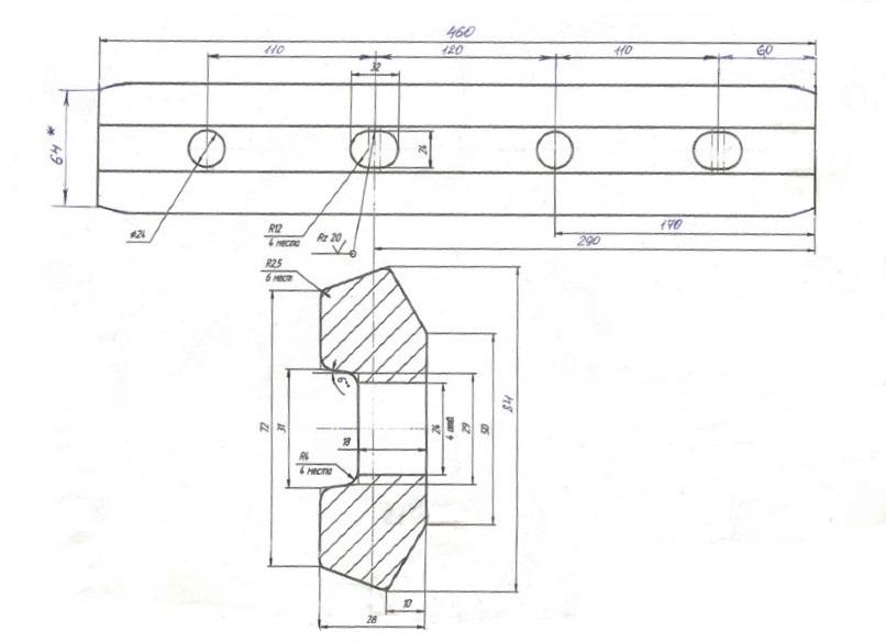 Стыковые накладки Р-33