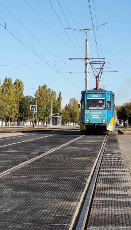 Резинокордовые плиты для трамвайных переездов