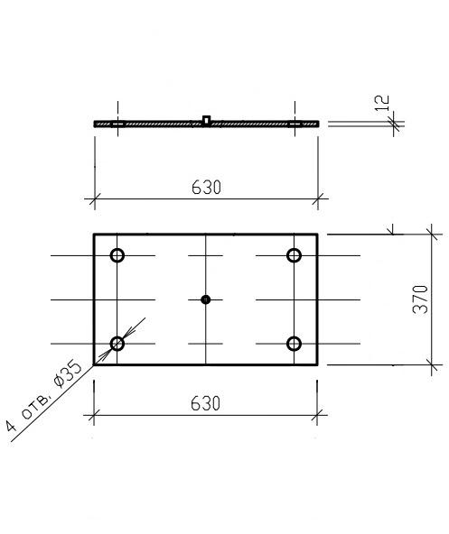 Крепёжный элемент Д-1